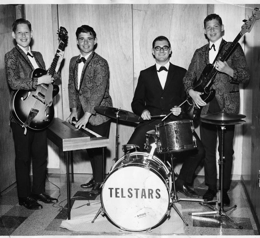 Telstars PR shot in our basement.