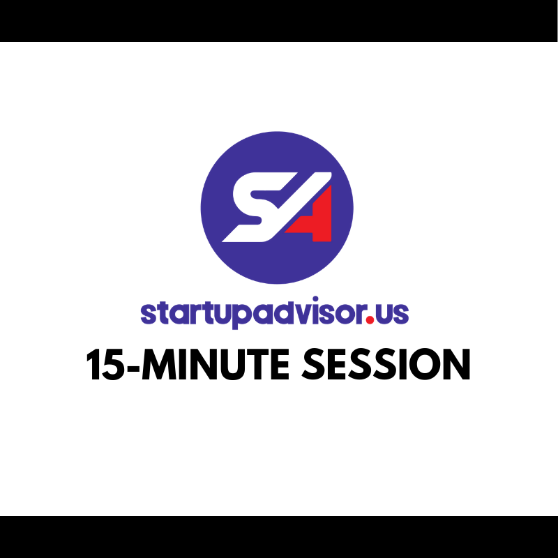StartupAdvisor 15-Minute Session
