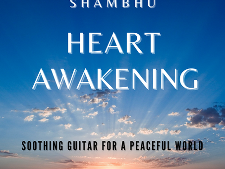 "Shambhu announces new single, ""Heart Awakening"", due April 20th"