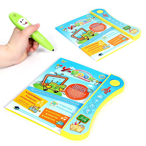 E-Book Reading Book With Pen Learning Machine - Learn English