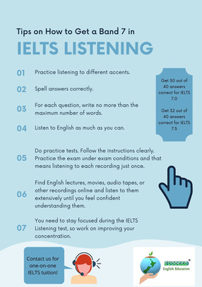 How to Get a Band 7 in IELTS Listening
