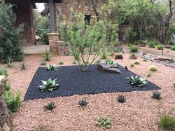 Modern, Drought Tolerant, Landscape  Glass Garden by JXC Landscaping (6)