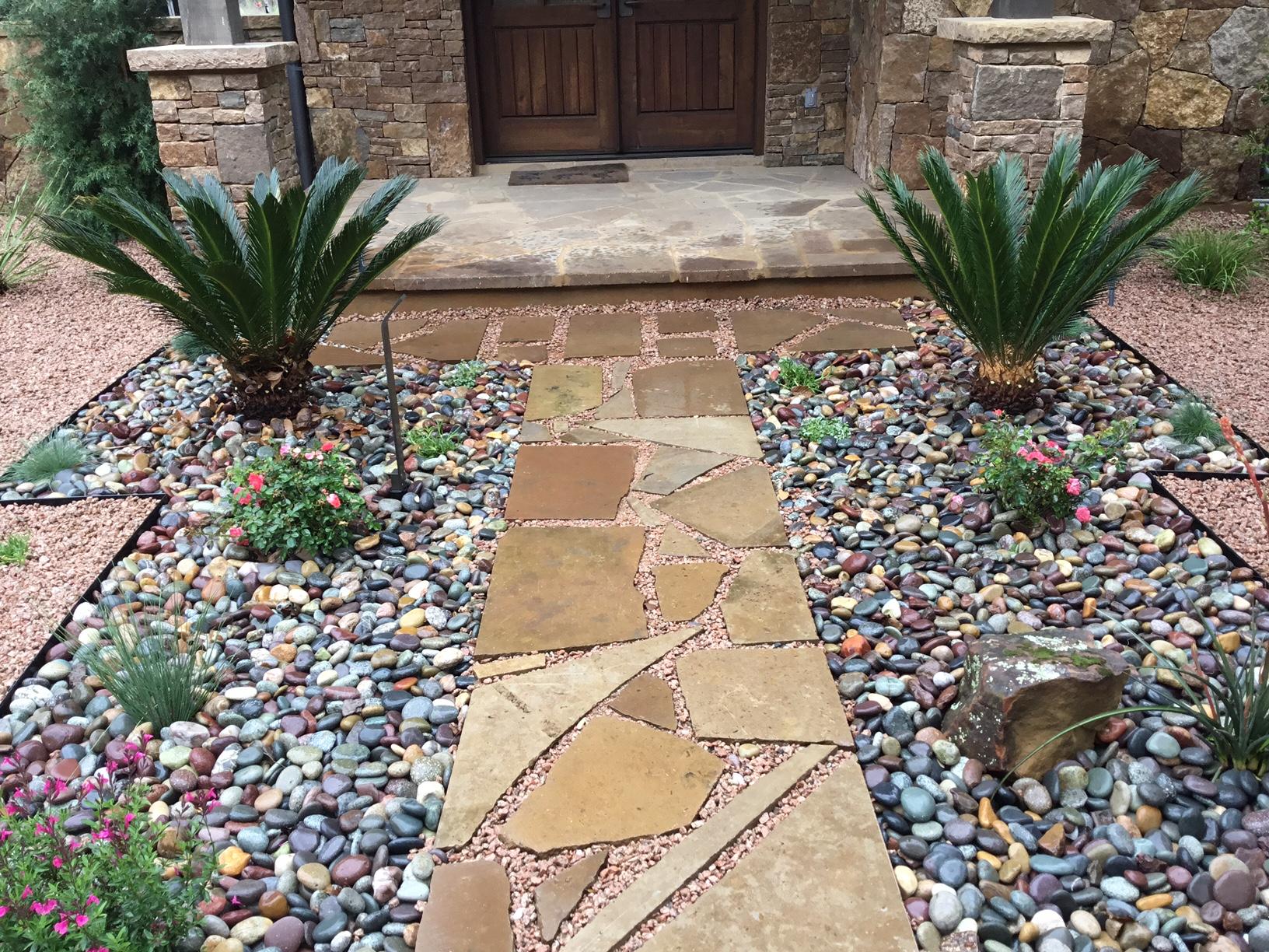 Modern, Drought Tolerant, Landscape  Glass Garden by JXC Landscaping (10)