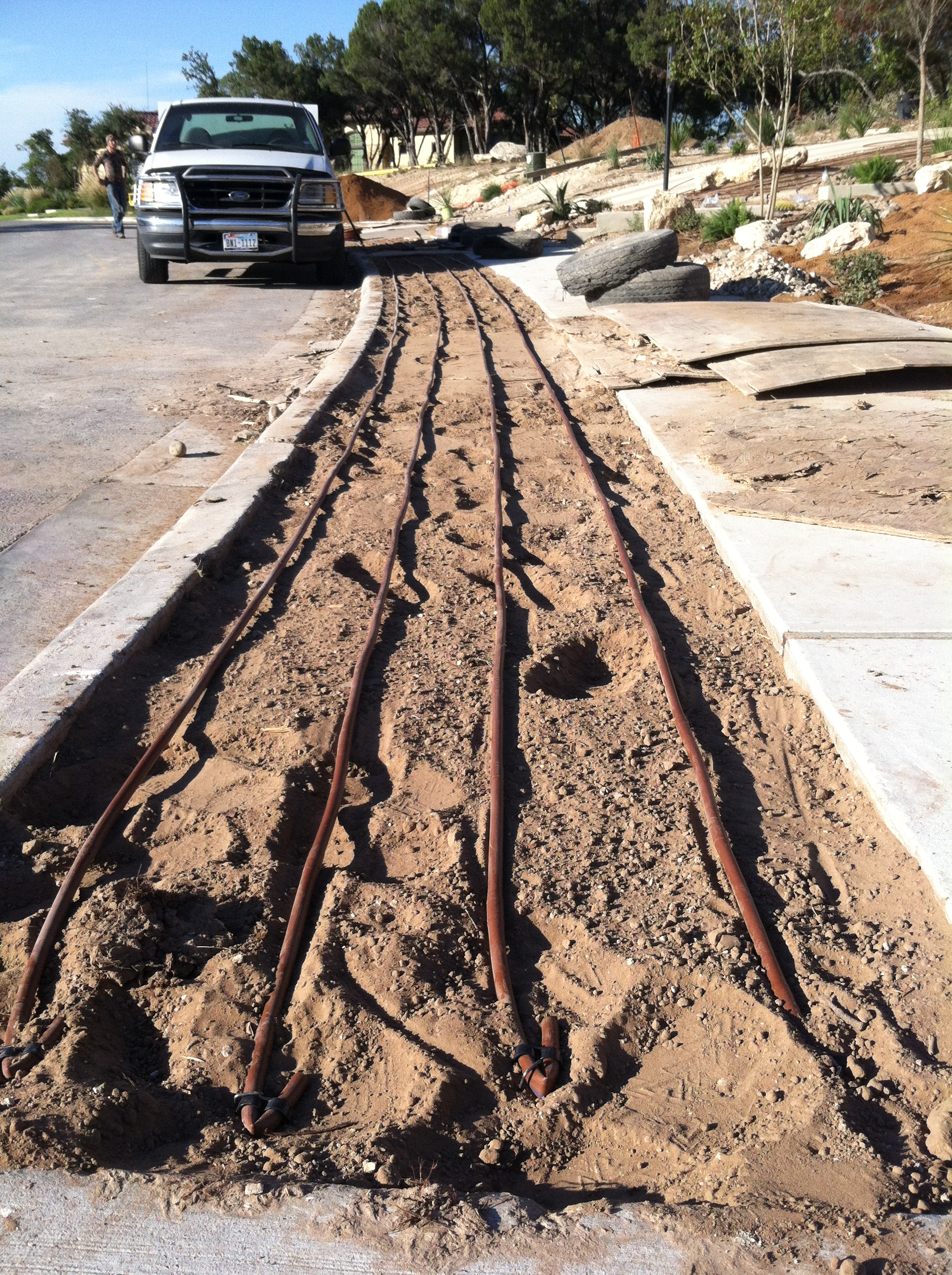 JXC Landscaping Rough Hollow Install 10.26.2014 (16)