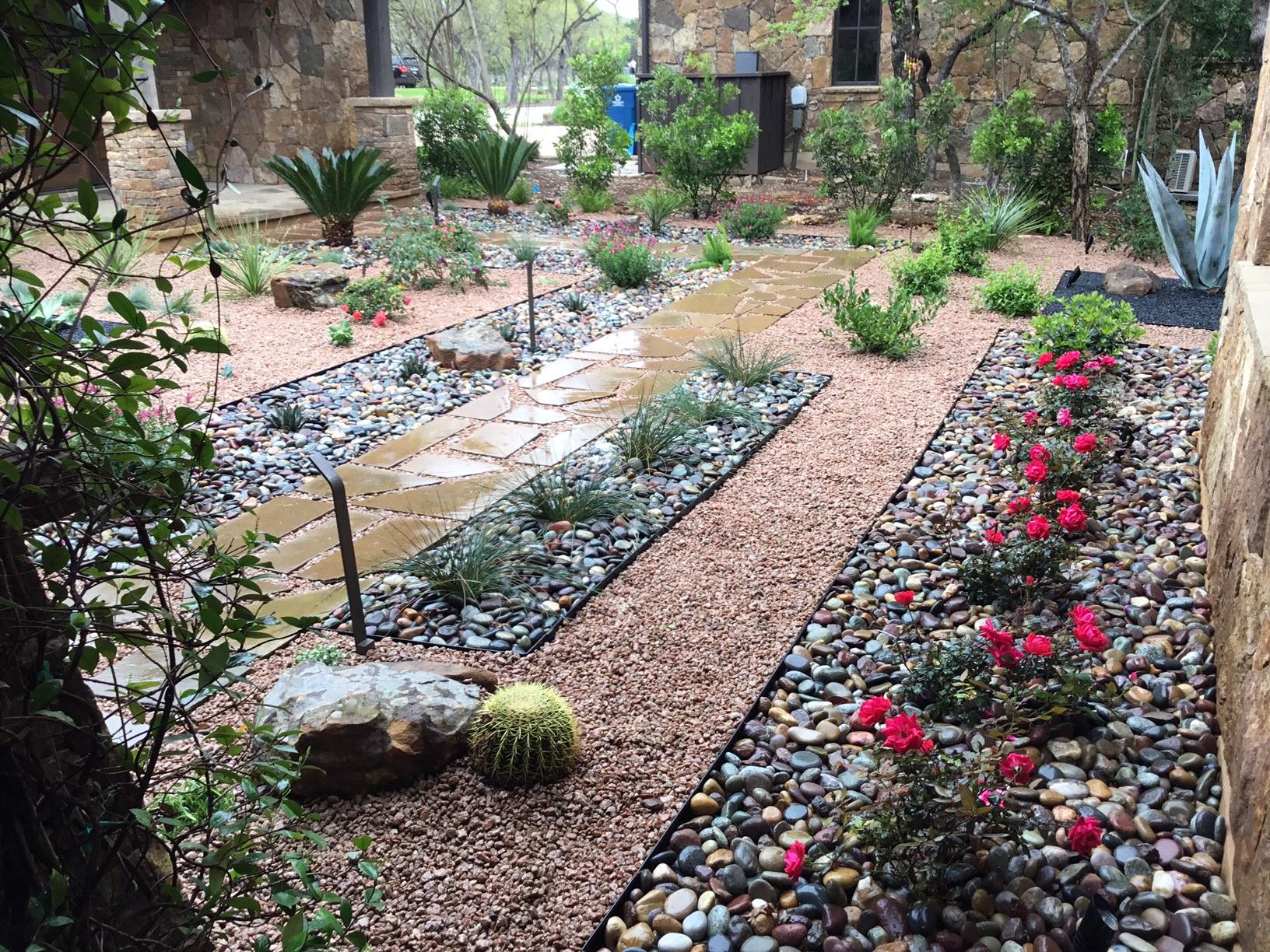 Modern, Drought Tolerant, Landscape  Glass Garden by JXC Landscaping (21)