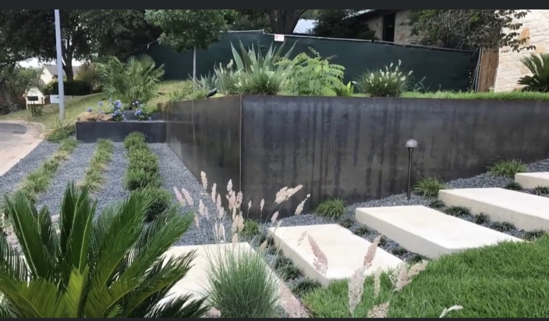 Steel Planters by JXC Landscaping (8)