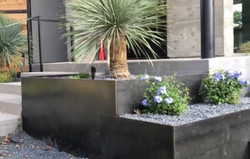 Steel Planters by JXC Landscaping (10)