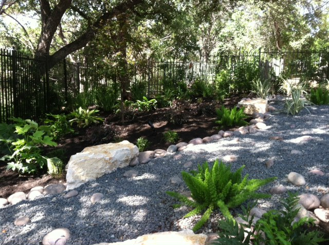 JXC Landscaping River Creek Bed