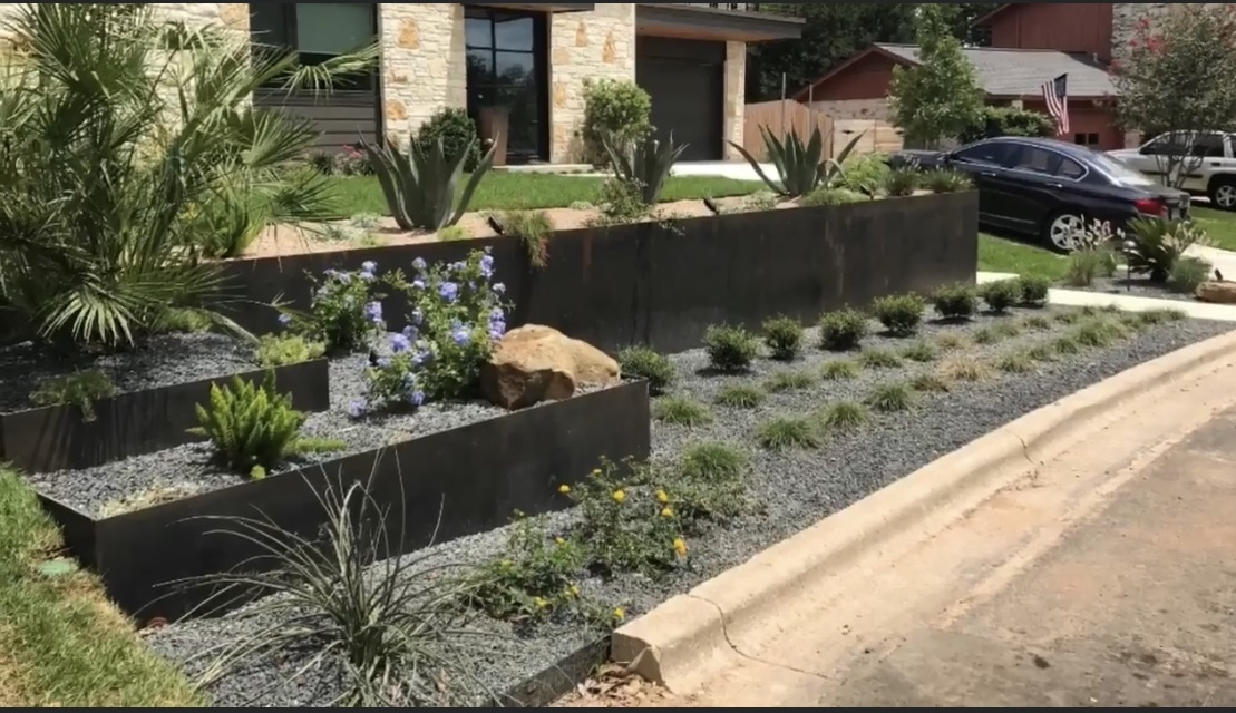 Steel Planters by JXC Landscaping (7)