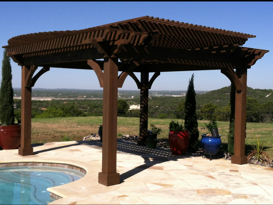Custom Pergolas by JXC Landcaping (1)
