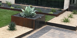 Steel Planters by JXC Landscaping (2)