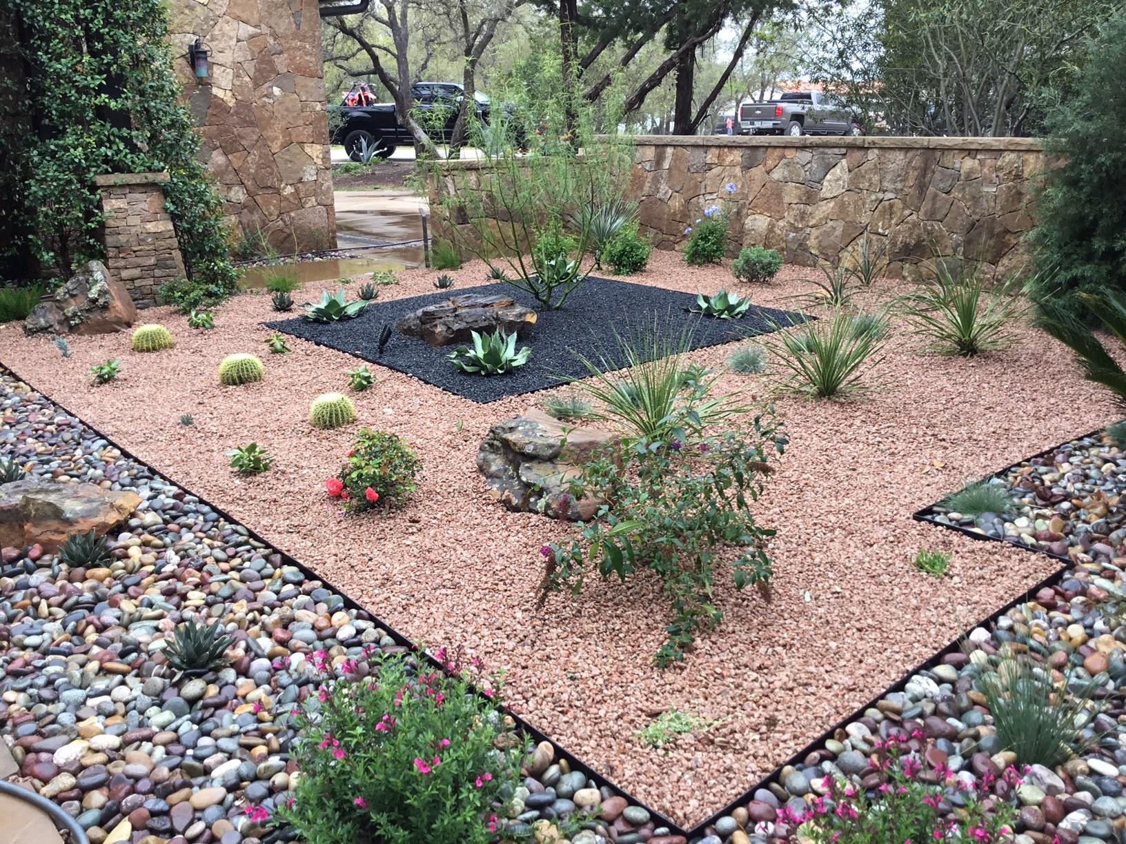Modern, Drought Tolerant, Landscape  Glass Garden by JXC Landscaping (11)