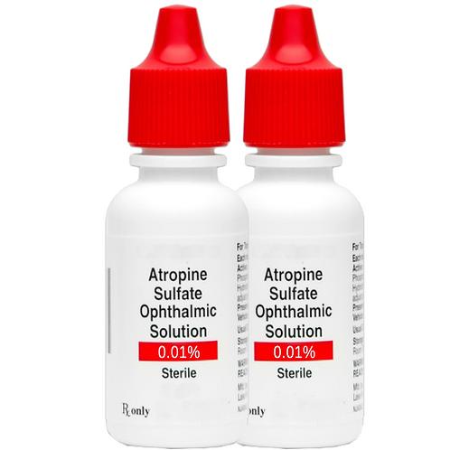2 ea. Atropine 0.01% Ophthalmic Solution - 4ml
