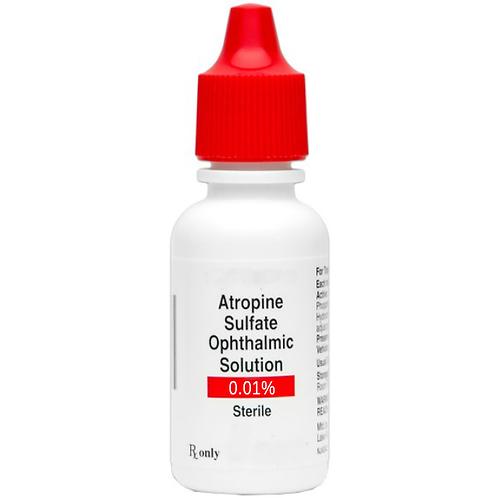 1 ea. Atropine 0.01% Ophthalmic Solution - 4ml