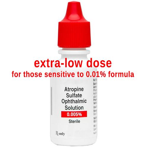 1 ea. Atropine 0.005% Ophthalmic Solution - 4ml