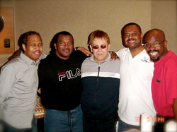 With Sir Elton John after Final Recording