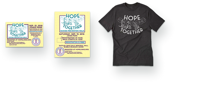 Hope Links Us together promo items