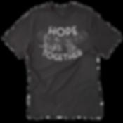 hope links us together walk shirt