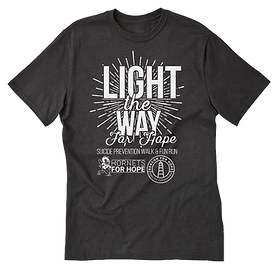 light the way for hope shirt
