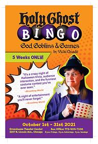 Holy Ghost Bingo: God, Goblins, & Games