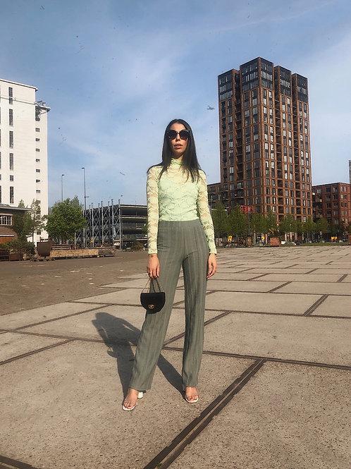 Thrift Pants Green