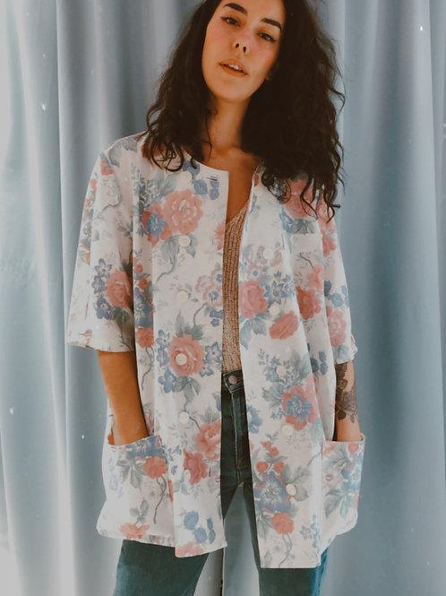 Isa Floral Jacket Blouse