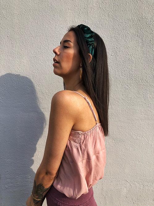 Hair Accessoires Velvet Green