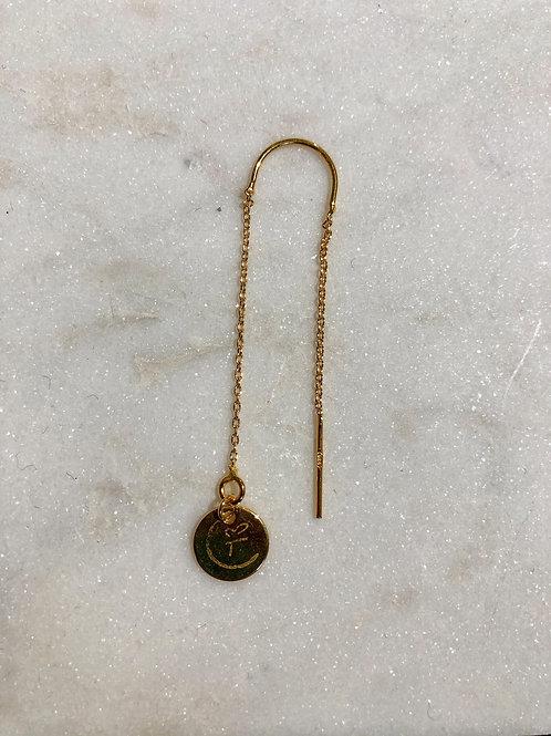 FREAK Gold earring