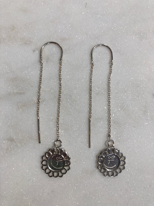 BLOOM 0.1 Silver earringset
