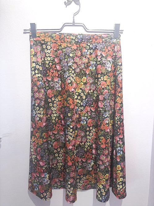 Jacky Vintage Skirt Flowers