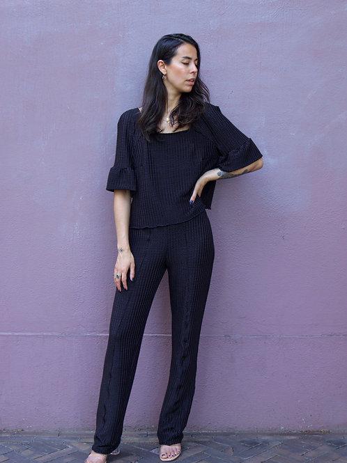 Rozie Suit Black