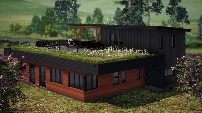 Maison écoénergétique inspirante : un plan magnifiquement personnalisé