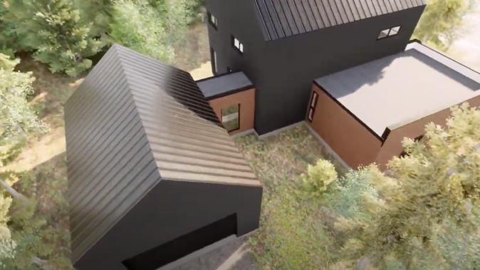 Conspectek : plan de rénovation garage de maison - écodomaine des Forges