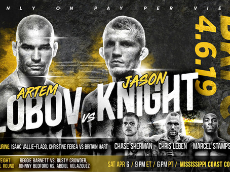 Bare Knuckle FC Returns To Mississippi Coast Coliseum