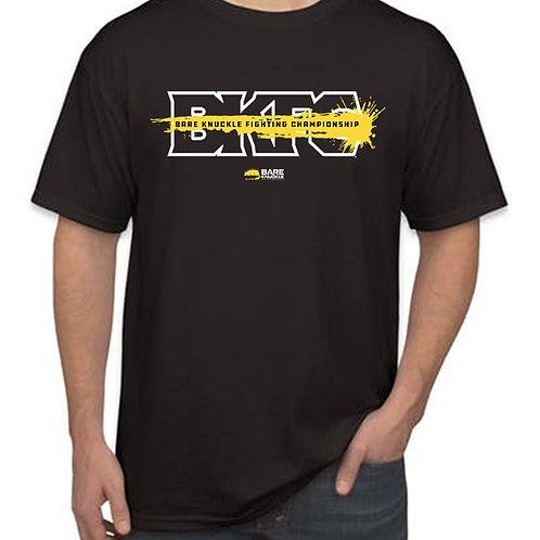 BKFC Shirt - Black/Yellow/White