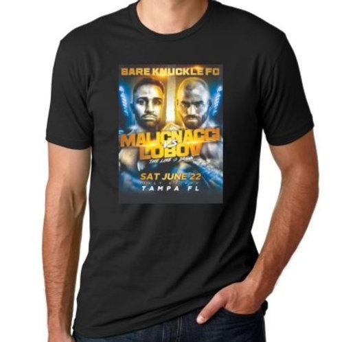 BKFC6 Malignaggi vs Lobov Event T-Shirt