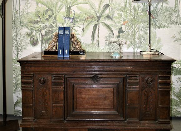 17th Century Oak box