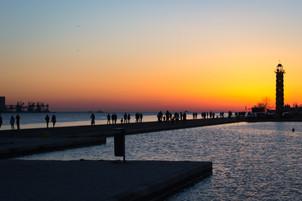 Sunset On The Tagus