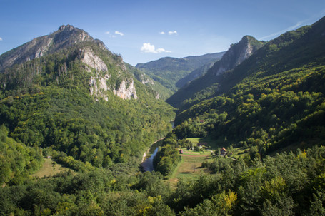 Tara River Valley, Montenegro
