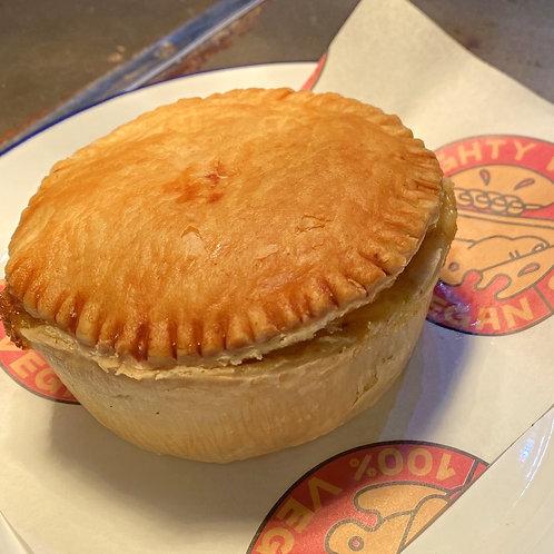 Dirty burger pie