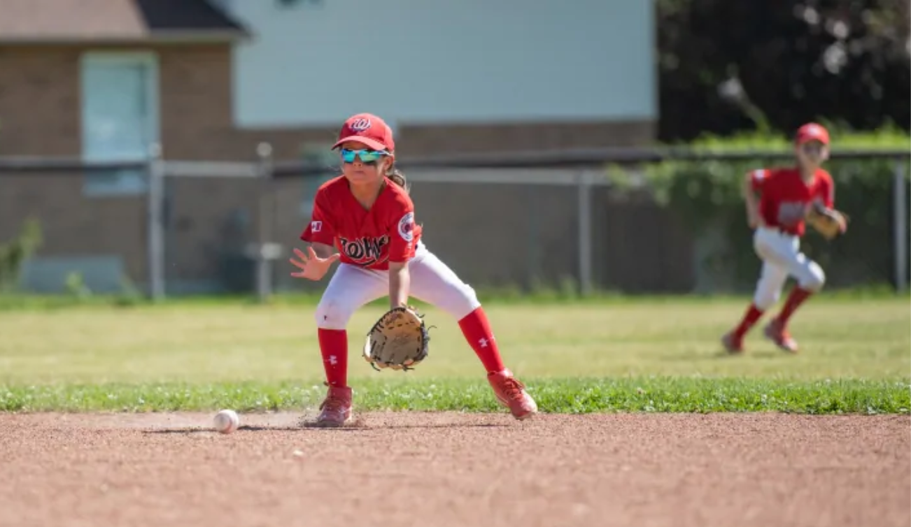 Ashlynn Jolicoeur, 8, says Girls Can Play Baseball