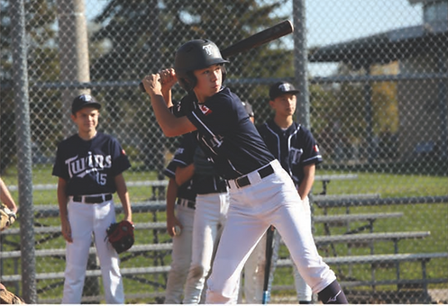 Yenna Robson, Batter Up Baseball