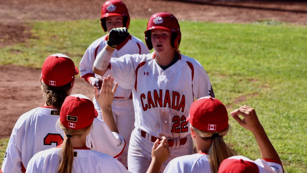 Baseball Canada - Girls Baseball