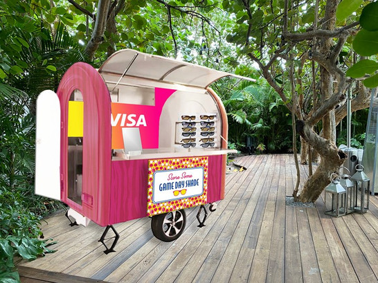 Visa SBLIV Shoreclub Sunglass Cart (Desi