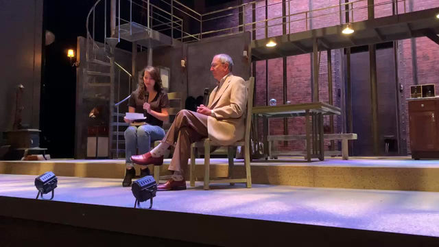 """Attending the play OIL at the LSU Swine Palace Theatre, and a post play """"talkback"""" session"""