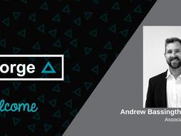 Welcome Andrew Bassingthwaighte