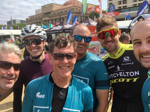 Team Forge at the Tour Down Under