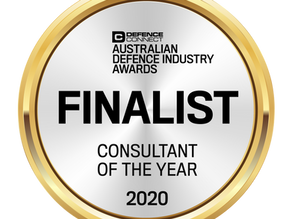 Jack Plimmer Shortlisted for Consultant of the Year in the Defence Connect Industry Awards