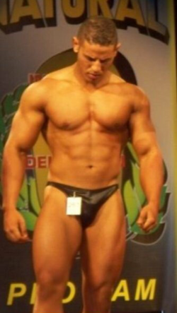 On stage at the INBA Natural Olympia 2009 (Gold Coast - Australia)