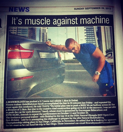 7DAYS newspaper (Dubai) 2013